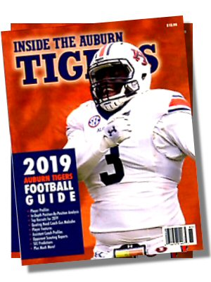 Inside the Auburn Tigers 2019 AUBURN FOOTBALL GUIDE